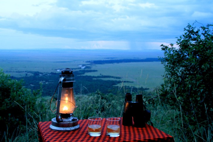 The view from Kilima Camp on your Kenya Special