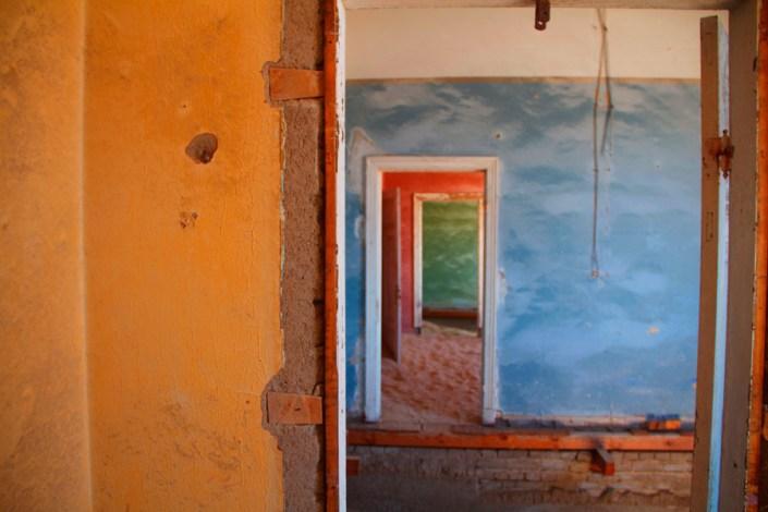 Amazing Colour in Kolmanskop