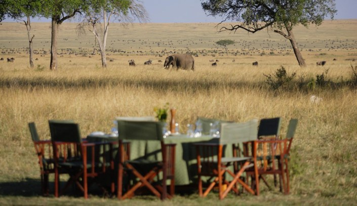Luxury Safari - Lunch with a view