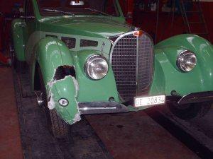 Atalante 57 S JLF - Avant restauration - Avant gauche