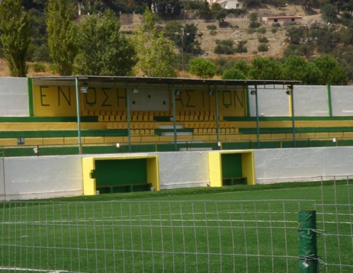Στάχτη έγιναν τα αποδυτήρια στο γήπεδο τον Ασιτών…