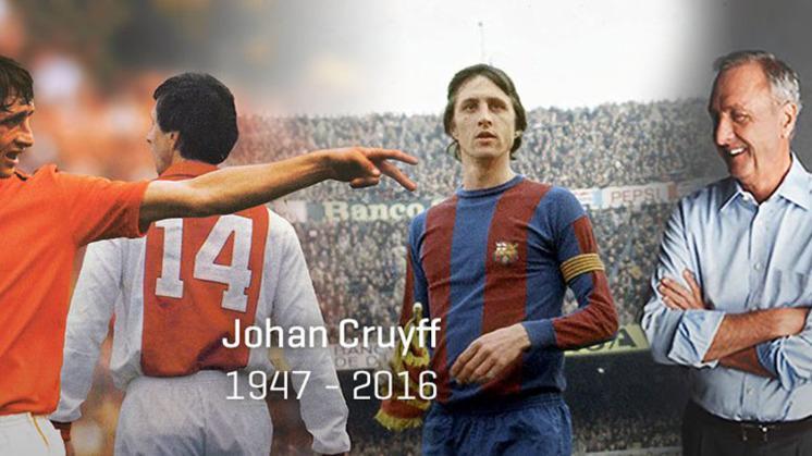 Παγκόσμιο σοκ από τον θάνατο του Γιόχαν Κρόϊφ