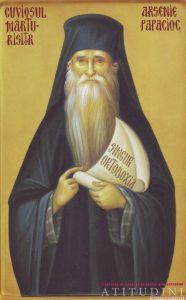 Icoana Cuviosul Marturisitor Arsenie Papacioc