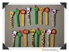 Inúmeras Atividades Criativas com Palitos de Sorvete   artes  | Atividades para Educacao Infantil