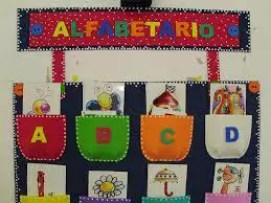 Os mais belos alfabetos decorados para sua sala de aula   alfabeto e palavras  | Atividades para Educacao Infantil