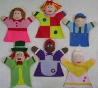 Fantoches e Dedoches para Contar Histórias infantis   brinquedos e brincadeiras  | Atividades para Educacao Infantil
