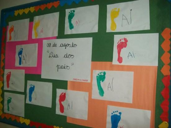 mural dia dos pais 1024x768 Painéis e Murais para o Dia dos Pais 10 de Agosto datas comemorativas | Atividades para Educacao Infantil
