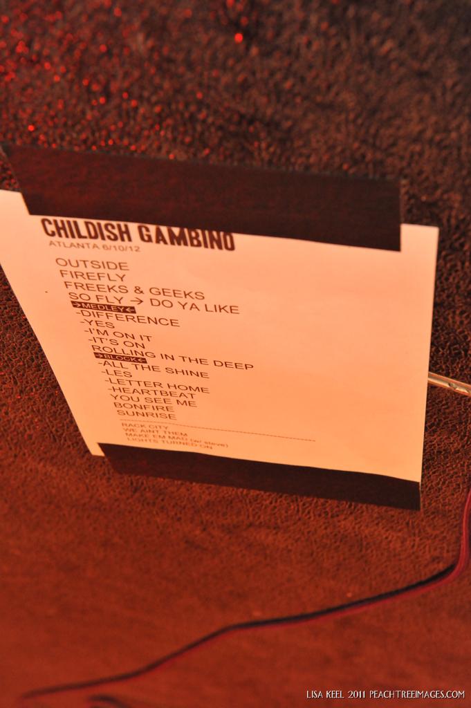 002Childish Gambino @ The Tabernacle 6-10-12 Lisa Keel-Peachtree Images