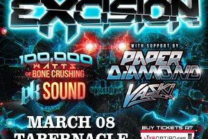 Win Tickets! Excision @ the Tabernacle Friday, March 8th