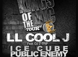 """Kings of the Mic"" Tour Featuring: LL Cool J, Ice Cube, Public Enemy & De La Soul; Tickets On Sale Friday, March 22nd!"