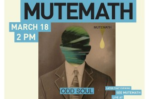 MUTEMATH Announce Criminal Records In Store, This Sunday, March 18th