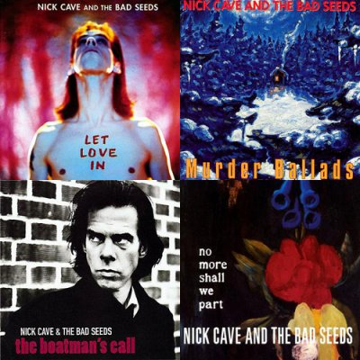 NickCaveAlbums
