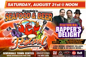 Riverdale's Seafood & Beer Festival at the Riverdale Town Center 8/31