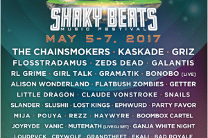 Shaky Beats Music Festival Line-Up Announced!