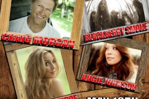 Just Announced: Rome River Jam – Saturday, 5/18 – ft. Craig Morgan, Blackberry Smoke + More!