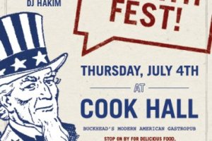 Spend the 4th of July at Cook Hall with Yacht Rock Revue