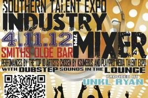 2012 Music Industry Mixer: Sony and PlayPro Southern Talent Expo April 11th @ Smith's Olde Bar
