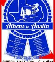 "40 Watt Club ""Athens In Austin"" 25th Anniversary Party"