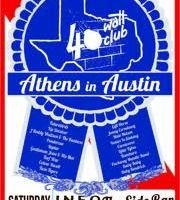 "40 Watt Club ""Athens In Austin"" 25th Anniversary Party"