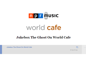 Jukebox the Ghost Featured on World Cafe Live