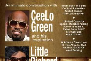 """The Legacy Lounge"": An Intimate Conversation with CeeLo Green and His Inspiration, Little Richard"