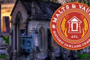 Malts and Vaults at Oakland Cemetery On Sale Saturday, 4/16!