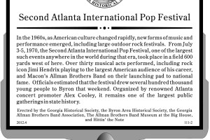 1970 Georgia Rock Festival To Be Commemorated With Historical Marker & Long-awaited Preview of Feature-length Documentary Film