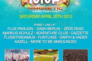 Magnetic Music Festival Lineup Announced (April 20th), Tickets On Sale Now