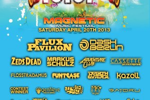More Performers Added to the Magnetic Music Festival Lineup, April 20th