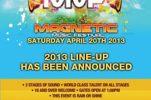 Kid Cudi, Third Party, and Tommie Sunshine Just Added to The Magnetic Music Festival Lineup, 4/20