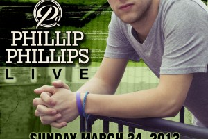 Just Announced: Phillip Phillips to play at KSU Stadium (Kennesaw) on Sunday, March 24th!