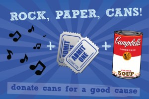 Rock, Paper, Cans! Smith's Olde Bar is Hosting a Can Food Drive November 21st – December 31st!