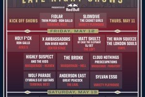 ICYMI: Shaky Knees Announces Late Night Line-up