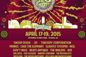Know Before You Go: Sweetwater 420 Fest 2015