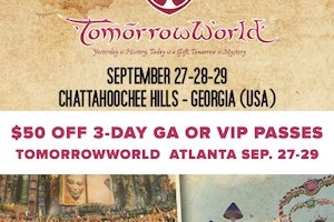 AMG Weekend Picks: TomorrowWorld, Departure and Running with Desire, SoMo & More!