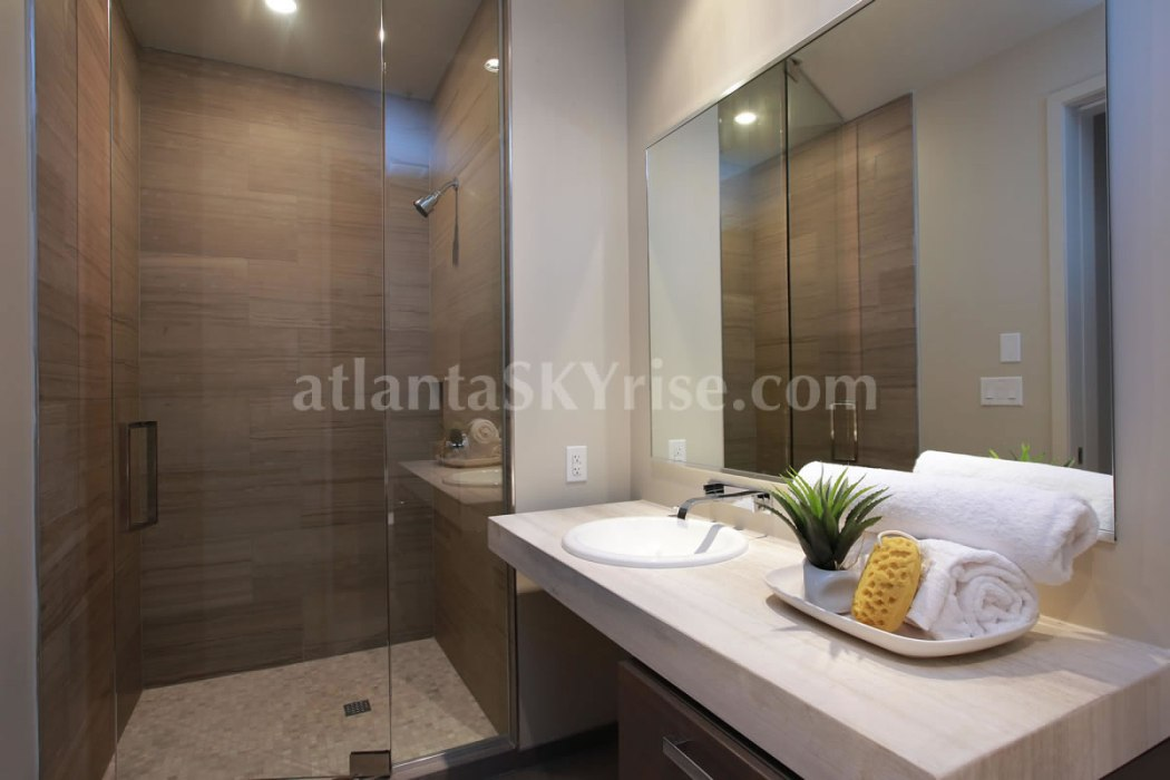 W Atlanta Residences 2304 Guest Bathroom
