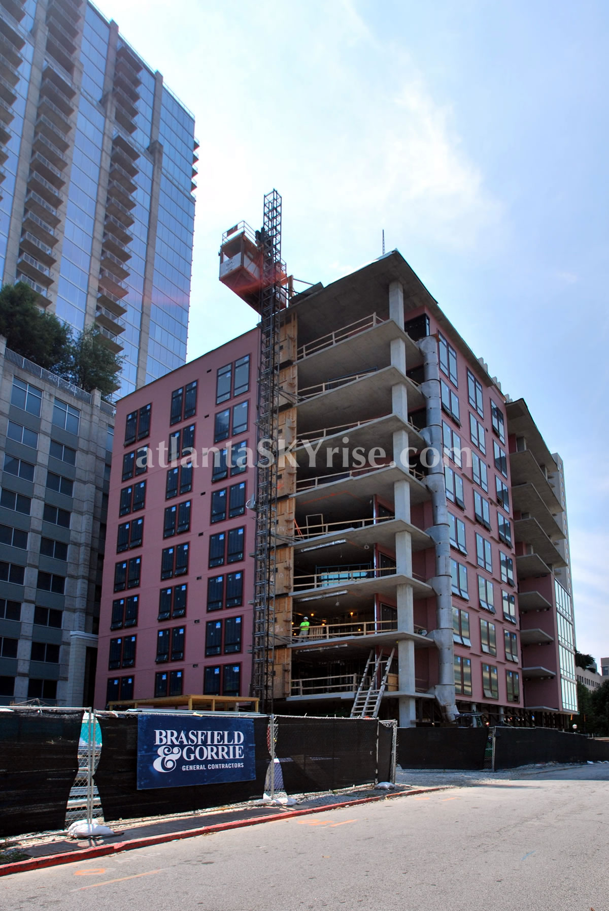 Seventh midtown atlanta construction update exterior for Innovation consulting atlanta