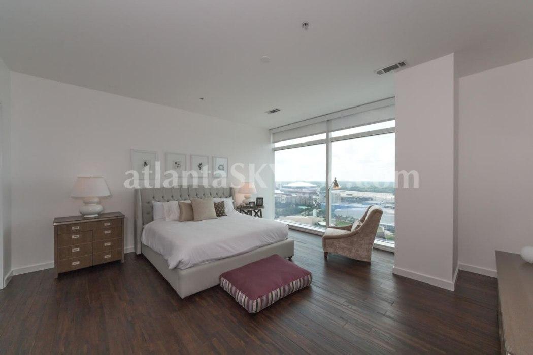 W Residences 45 Ivan Allen Penthouse 2703 Bedroom 1