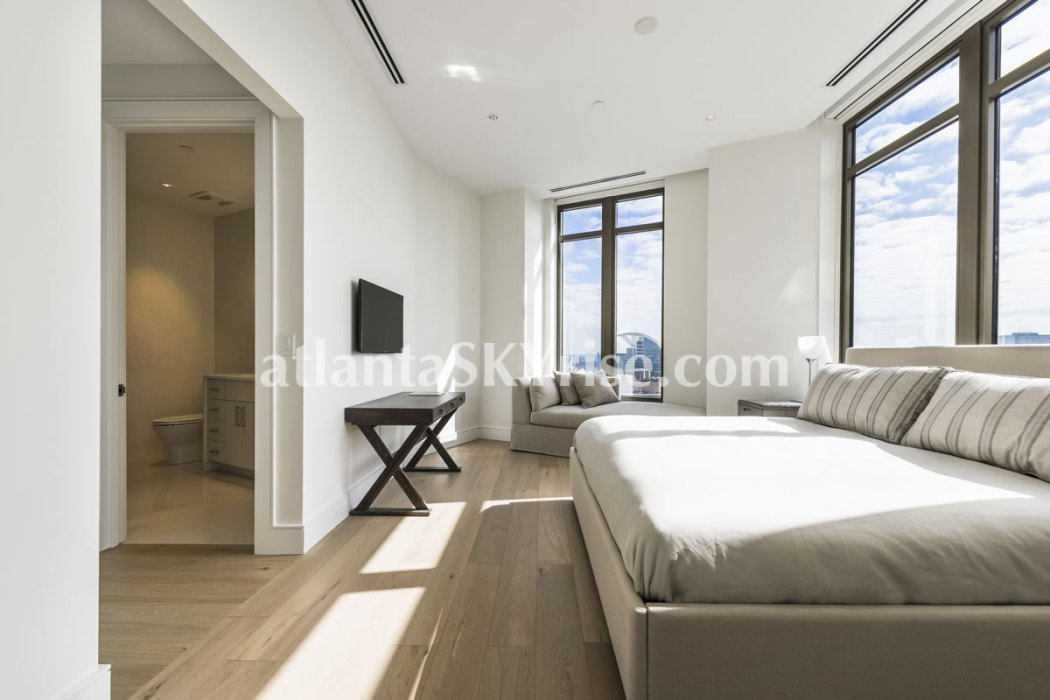 Mandarin Oriental Residences Atlanta Unit 39 Guest Bedroom One 1