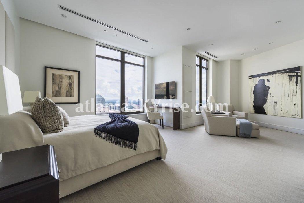 Mandarin Oriental Residences Atlanta Unit 39 Master Bedroom 1