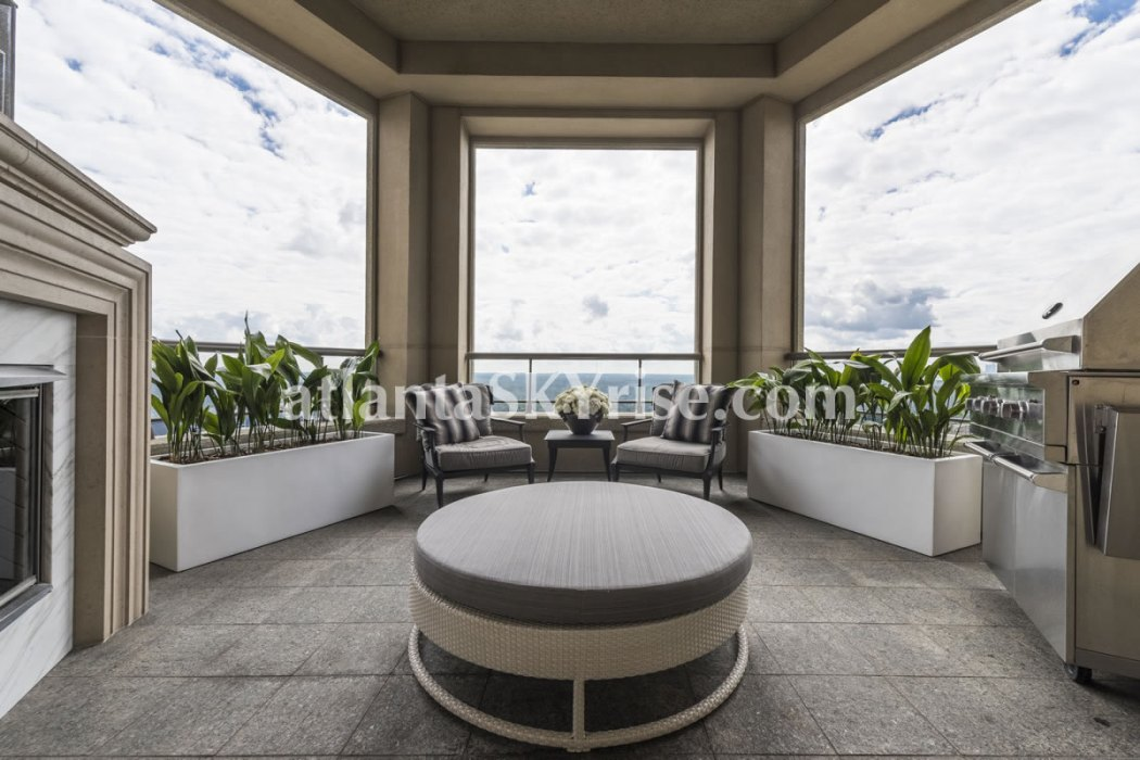 Mandarin Oriental Residences Atlanta Unit 39 Terrace 1