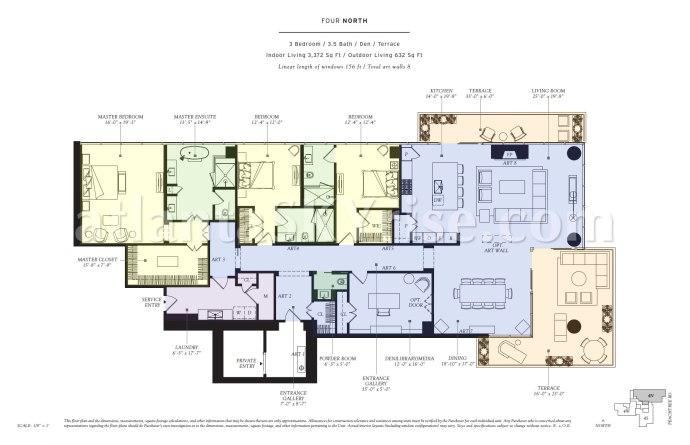 Four North Floor Plan