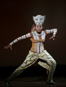 Nia Holloway as Nala in The Lion King National Tour. Photo by Joan Marcus ©Disney