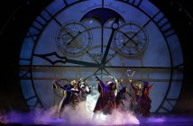 The cast of Wicked perform. Photo by Joan Marcus