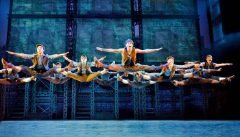 Newsies at the Fox Theatre