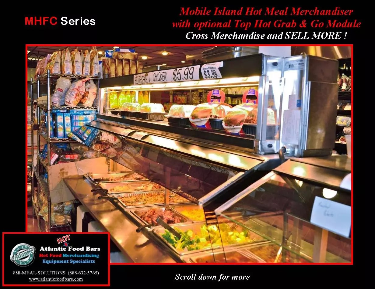 Atlantic food bars mobile hot food bar w packaged for Hot food bar 3 divisions