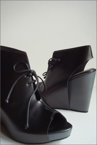 Martha davis open toe bootie