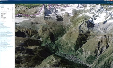 Basemap Switch (Satellite and aerial images)
