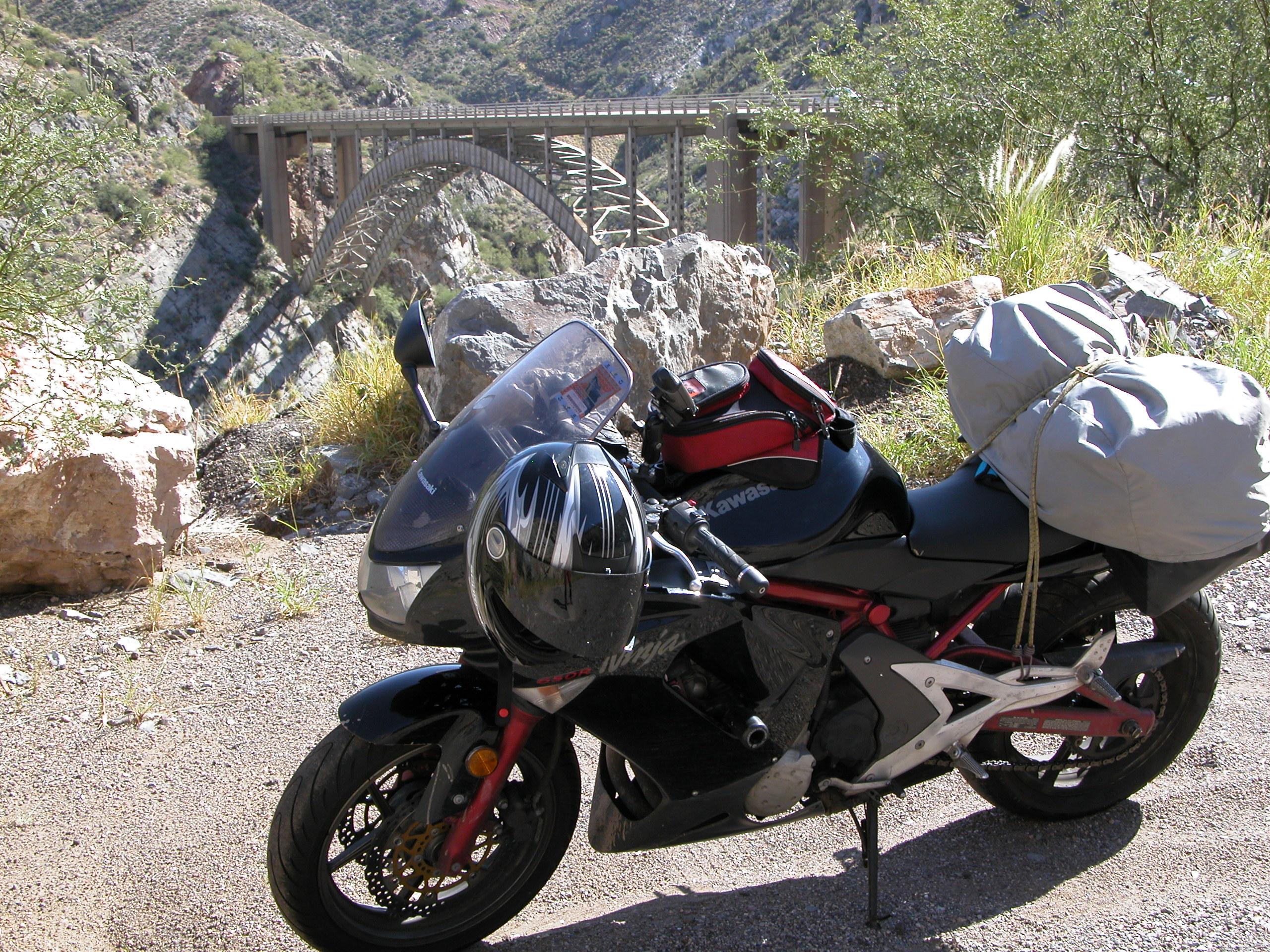2006 Kawasaki Ninja 650r Review 40000 Miles Later Atlas Rider Wiring Harness Routing The