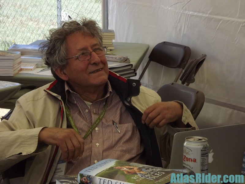 Ted Simon at Overland Expo 2012